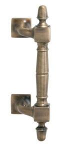 Kunststoff Haustür Türgriff in Bronze